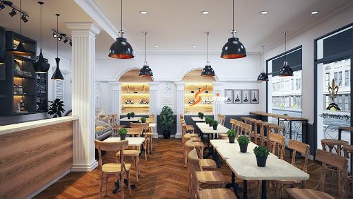 Thiết kế quán cafe cổ điển 2