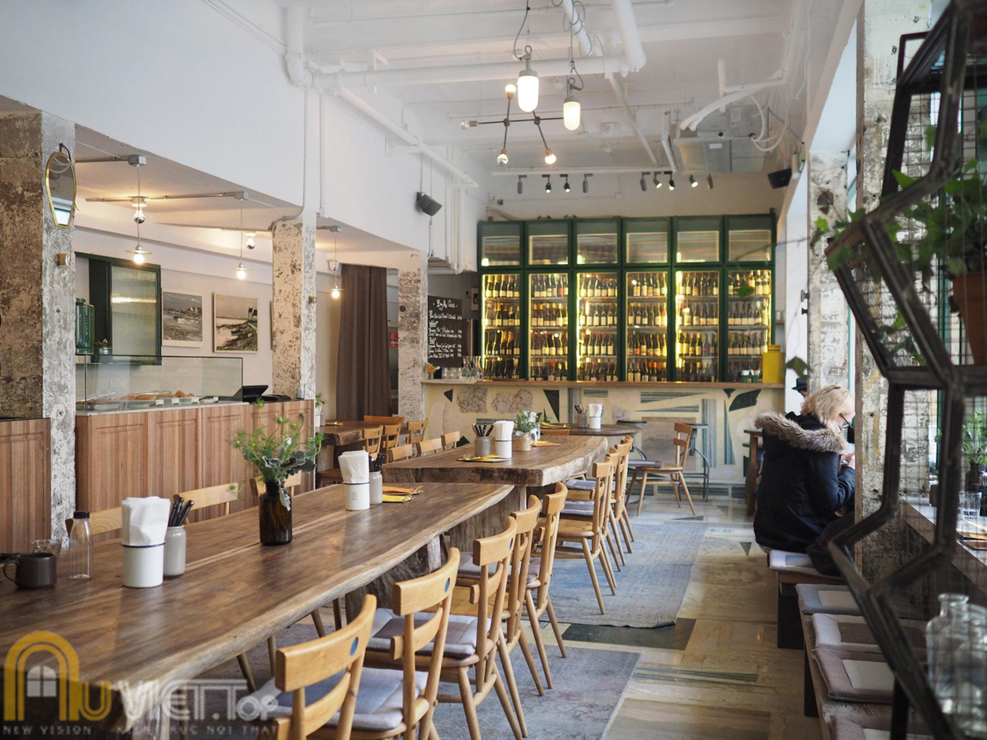 Thiết kế quán cafe cổ điển 3
