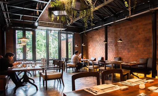 Thiết kế quán cafe cổ điển 5