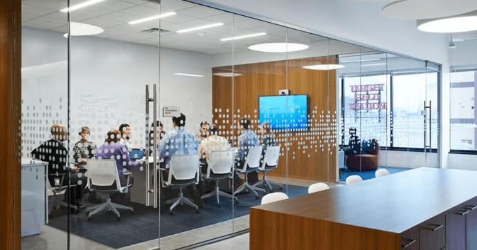 Thiết kế văn phòng tăng cảm hứng làm việc cho nhân viên