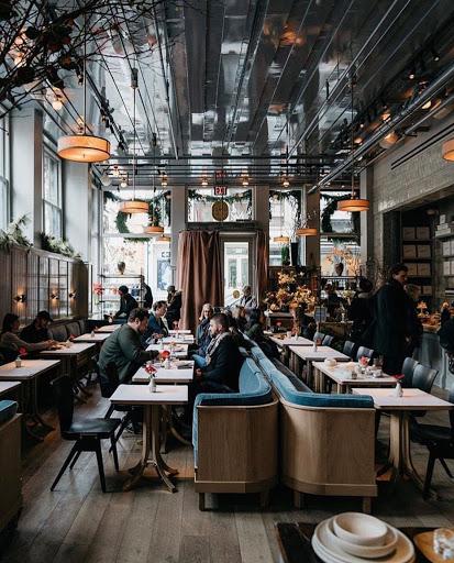 Trang trí nội thất quán cafe hiện đại 3