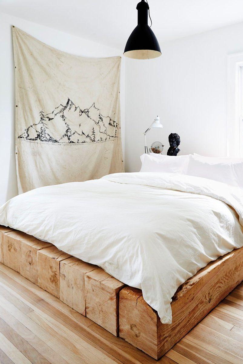 Tự làm một tấm vải treo trong phòng ngủ