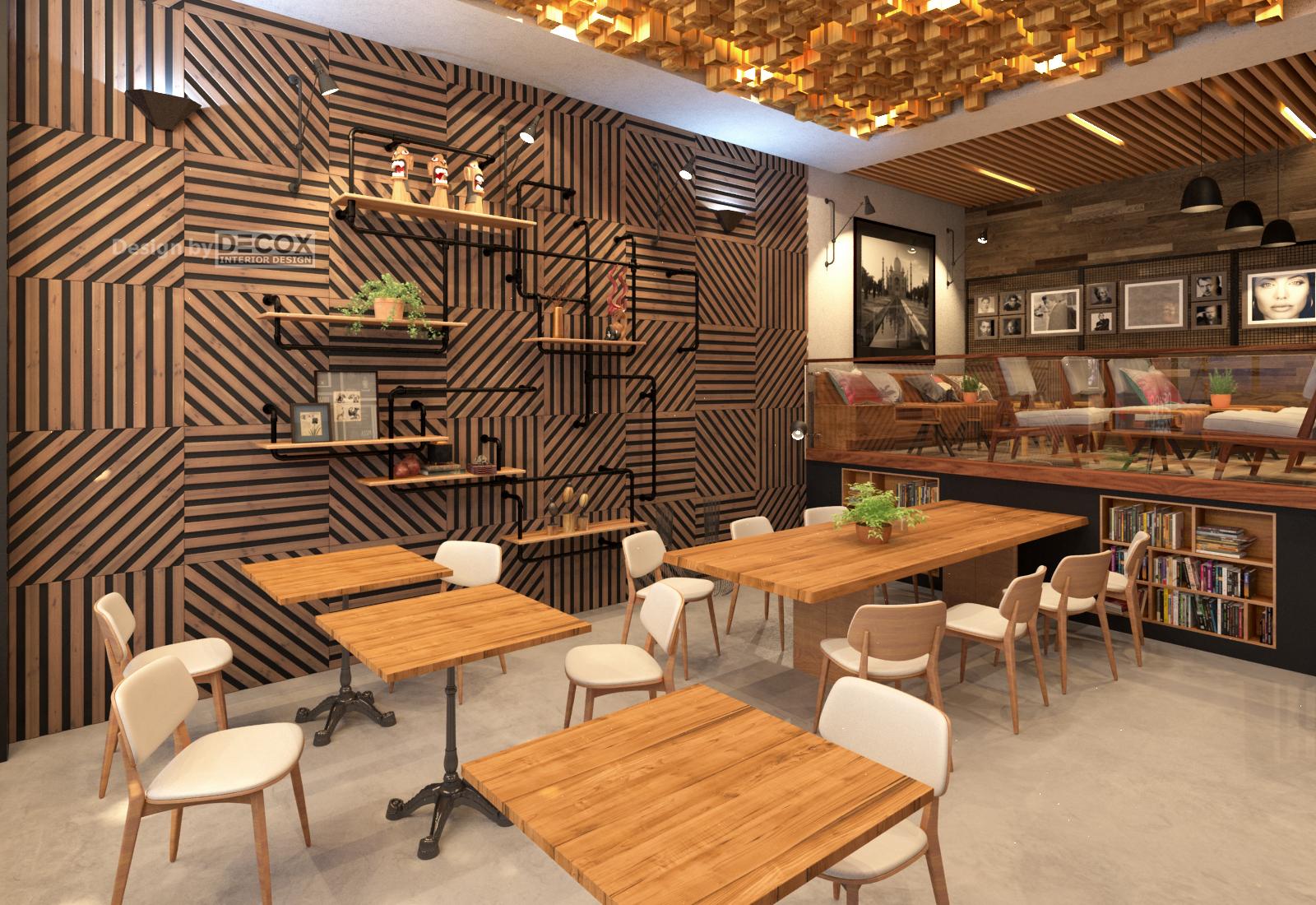 Tư Vấn Thiết Kế Nội Thất Quán Cafe 12