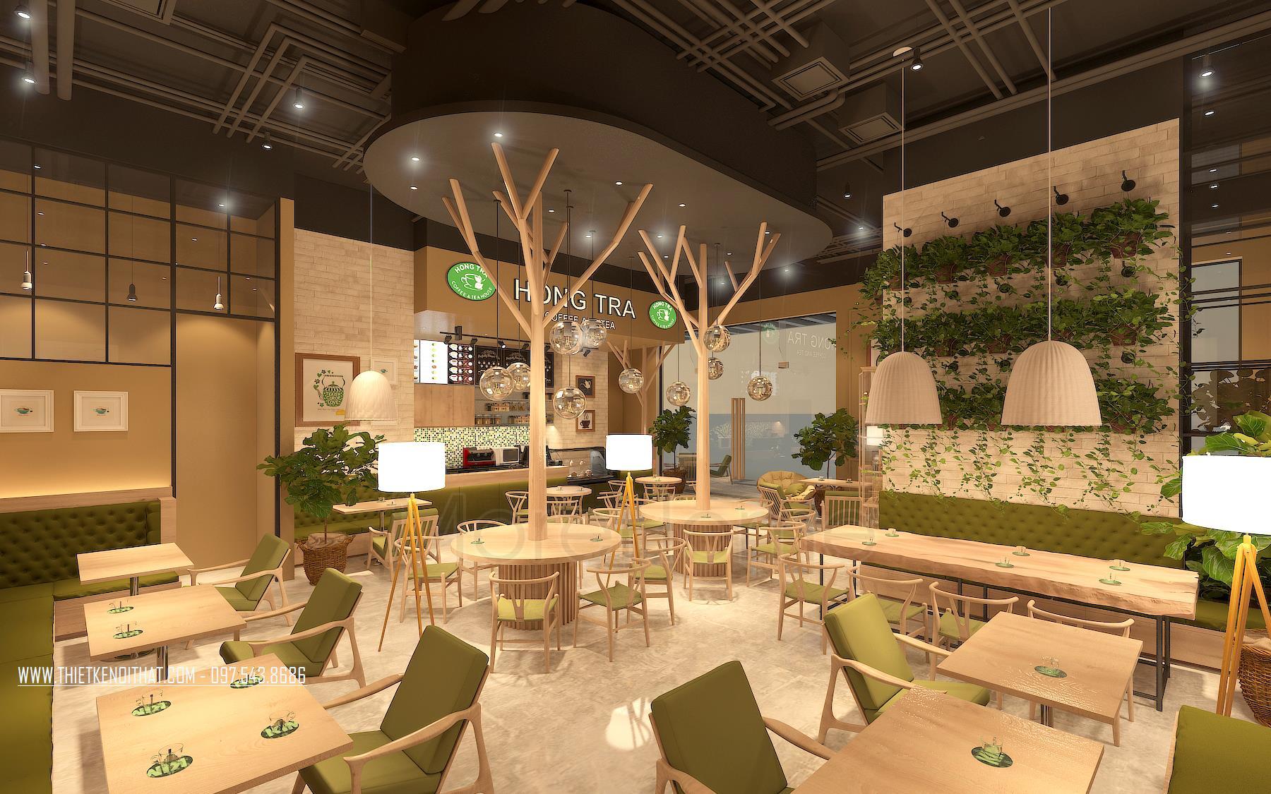 Tư Vấn Thiết Kế Nội Thất Quán Cafe 16