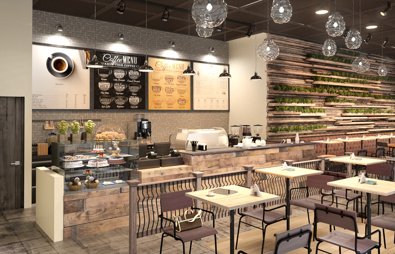 Tư Vấn Thiết Kế Nội Thất Quán Cafe 5