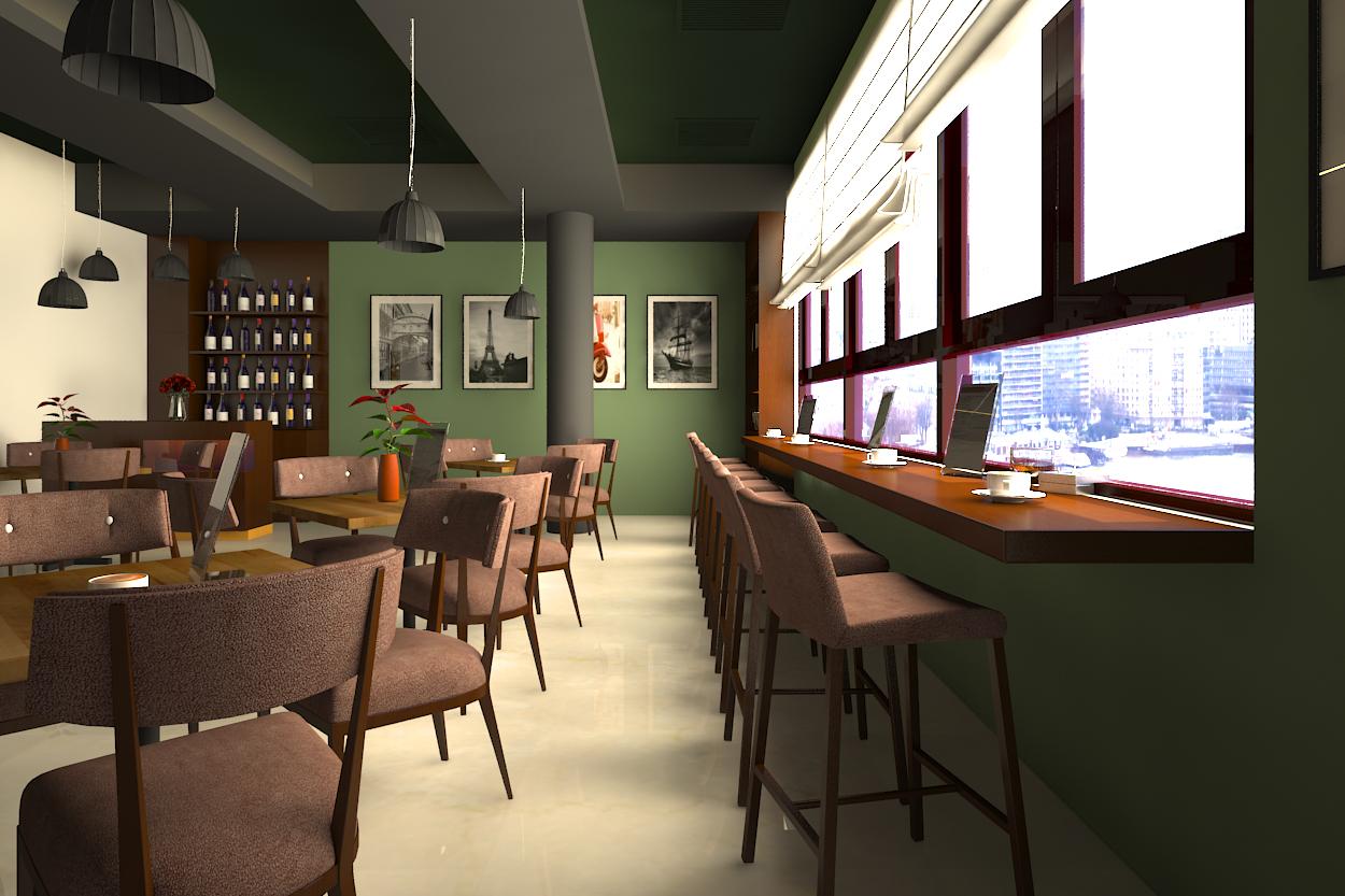 Tư Vấn Thiết Kế Nội Thất Quán Cafe 6