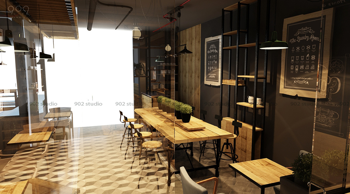 Tư Vấn Thiết Kế Nội Thất Quán Cafe 7