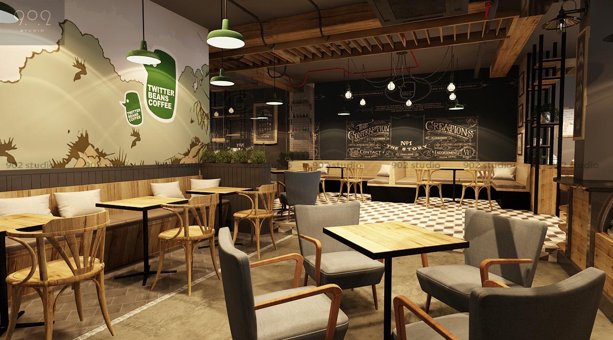 Tư Vấn Thiết Kế Nội Thất Quán Cafe 8