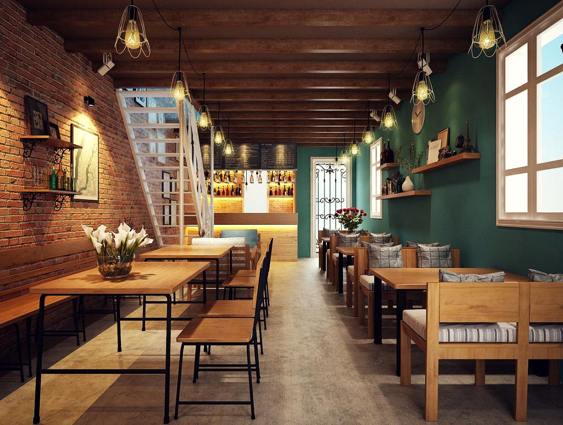 Tư Vấn Thiết Kế Nội Thất Quán Cafe 9