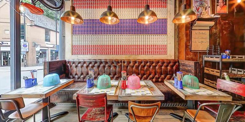 Tuyệt chiêu thiết kế nội thất quán cafe