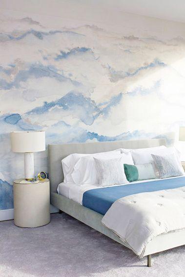 Vẽ lên tường phòng ngủ