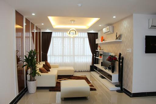 Phòng khách nhà phố 7