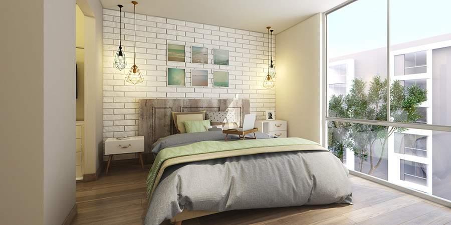Phòng ngủ chung cư 60m2