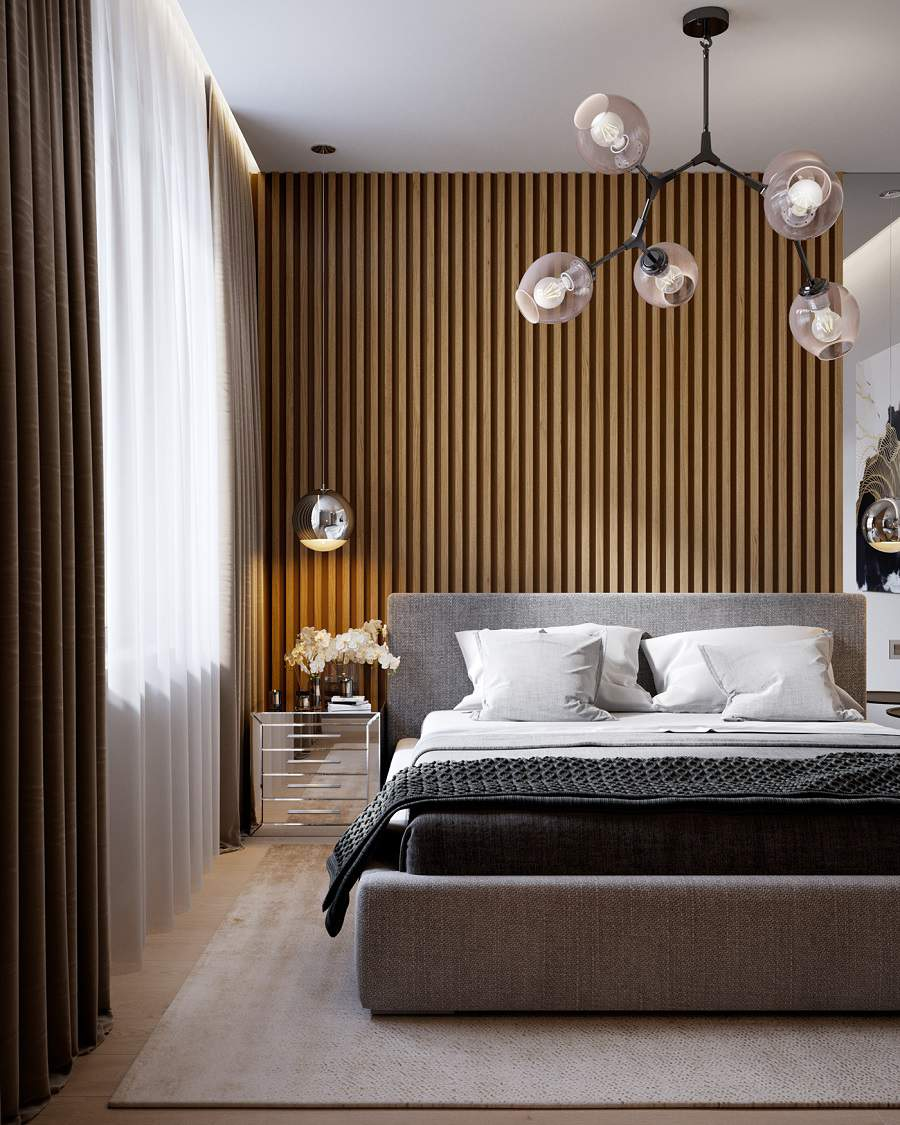 Phòng ngủ chung cư căn hộ 1