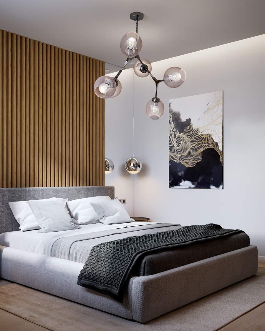Phòng ngủ chung cư căn hộ