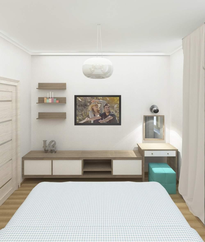 Phòng ngủ chung cư nhỏ tối ưu không gian