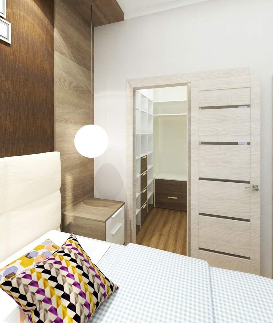 Phòng ngủ chung cư thoải mái