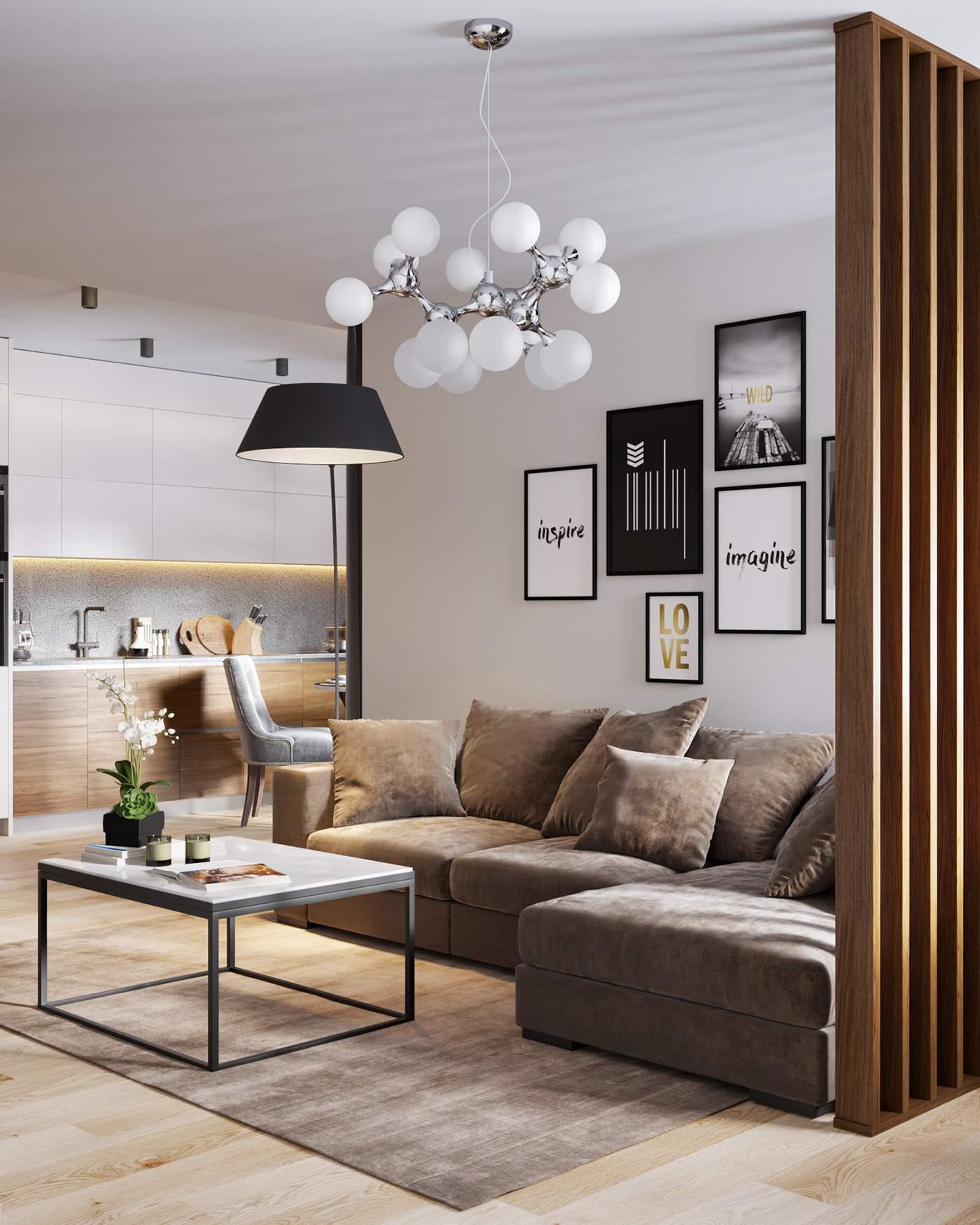 Thiết kế căn hộ chung cư 70m2 1