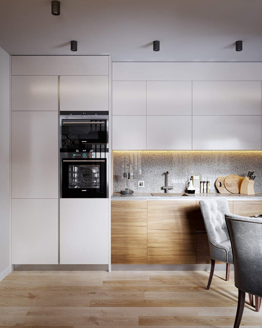 Thiết kế căn hộ chung cư 70m2 3