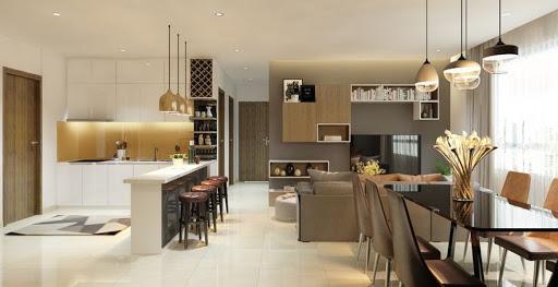 Thiết kế nội thất căn hộ 90m2 2
