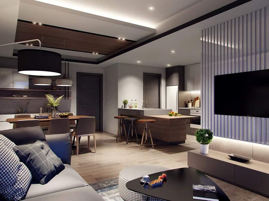 Thiết kế nội thất chung cư 65m2 1