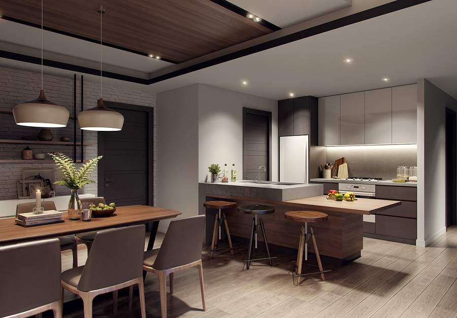 Thiết kế nội thất chung cư 65m2 3