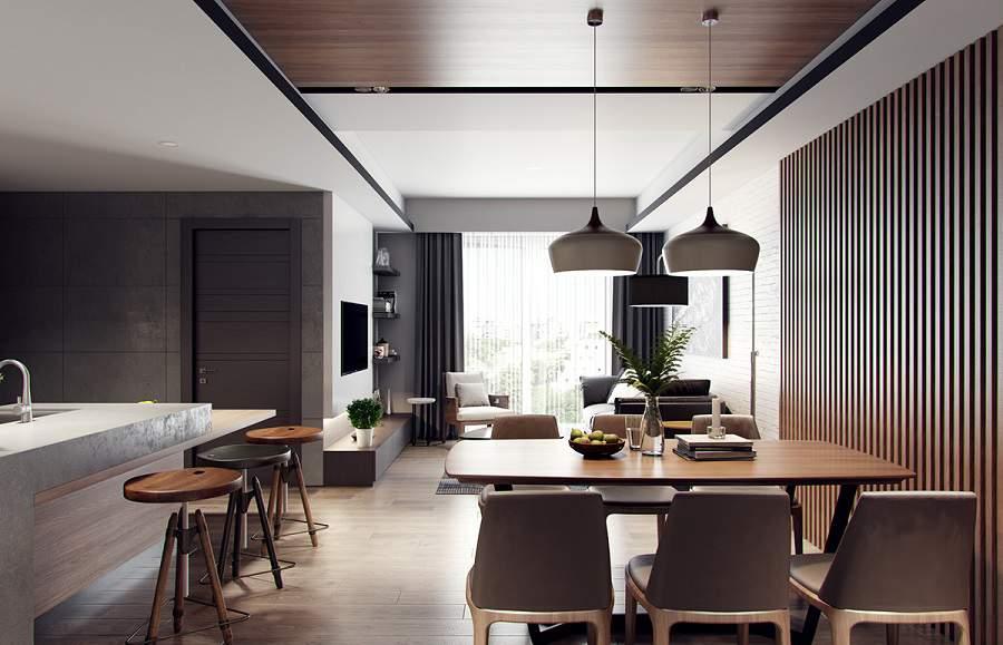 Thiết kế nội thất chung cư 65m2 4