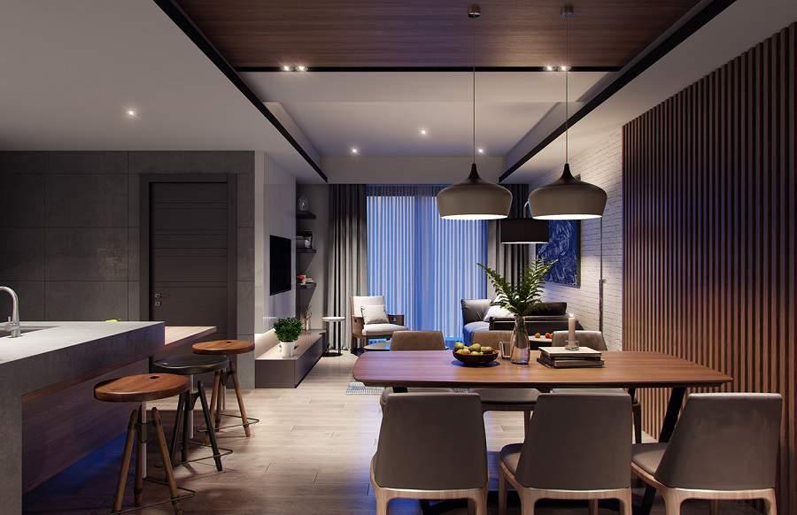Thiết kế nội thất chung cư 65m2 5