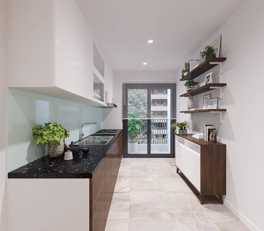 Thiết kế nội thất chung cư 80m2 2
