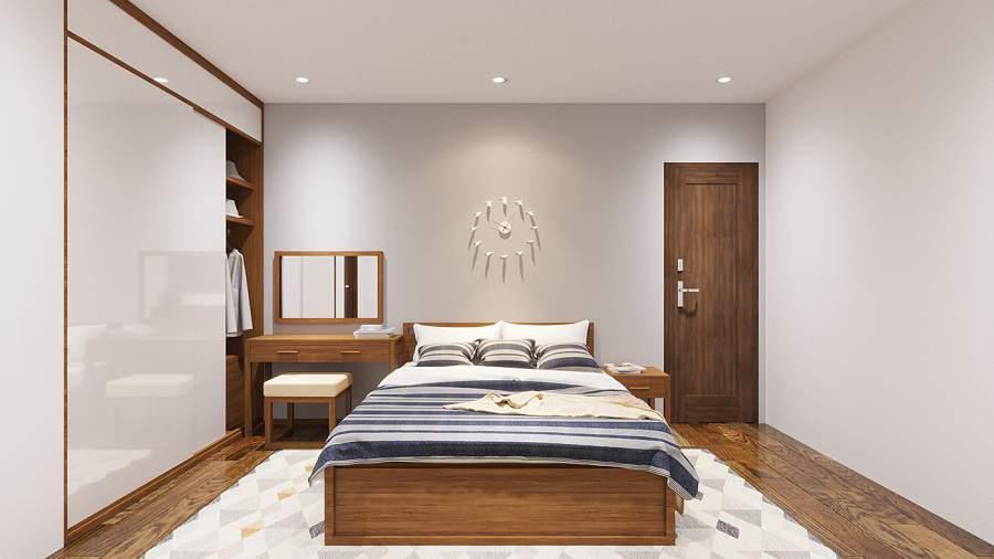Thiết kế nội thất chung cư 80m2 3