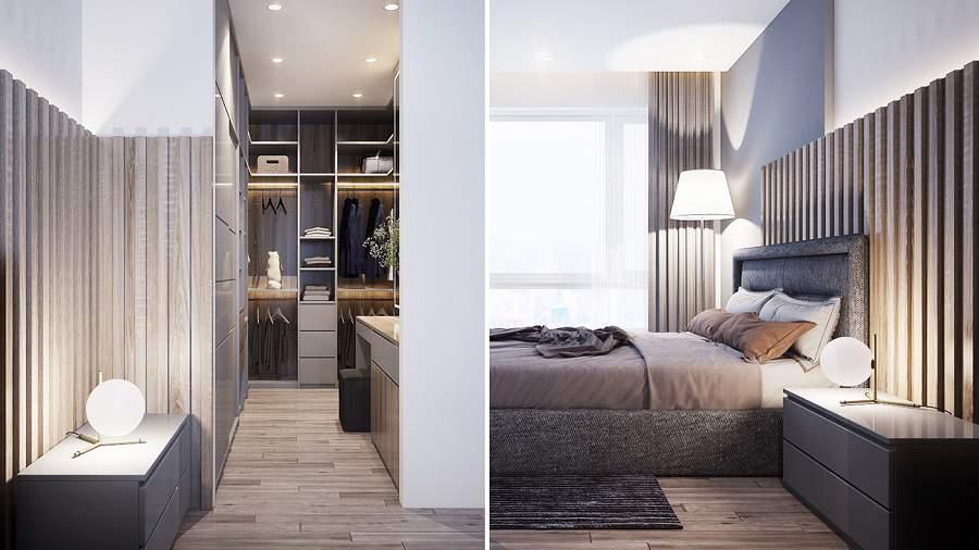 Thiết kế nội thất chung cư 90m2 5