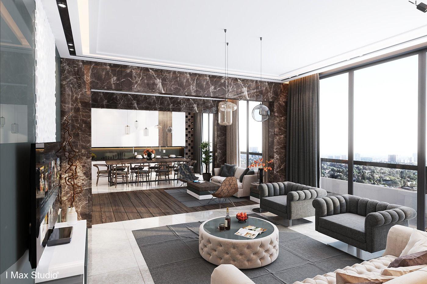 Thiết kế nội thất chung cư cao cấp 1