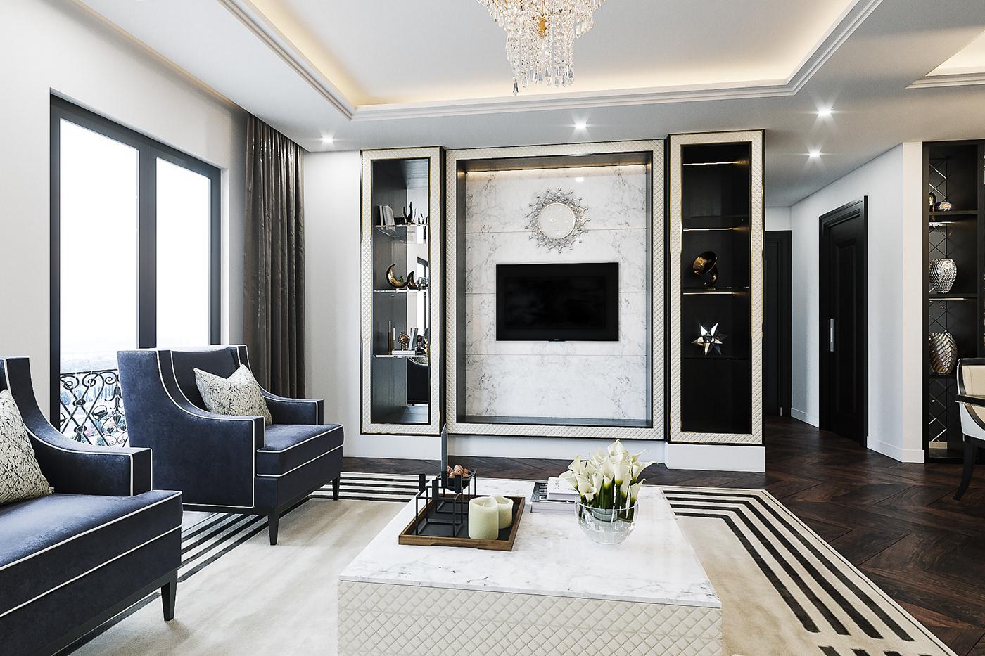 Thiết kế nội thất chung cư cao cấp 3