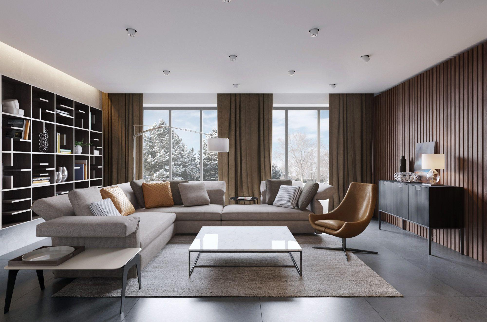 Thiết kế nội thất chung cư cao cấp 4
