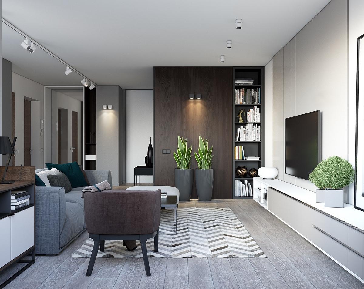 Thiết kế nội thất nhà chung cư đẹp 2