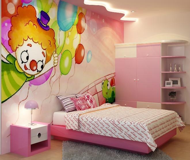 Thiết kế phòng ngủcho bé gái