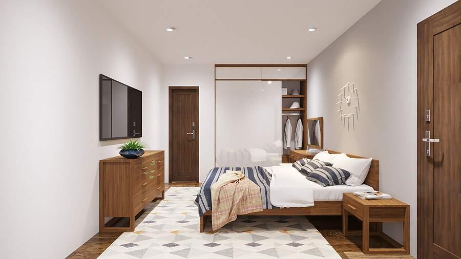Thiết kế phòng ngủ chung cư 1