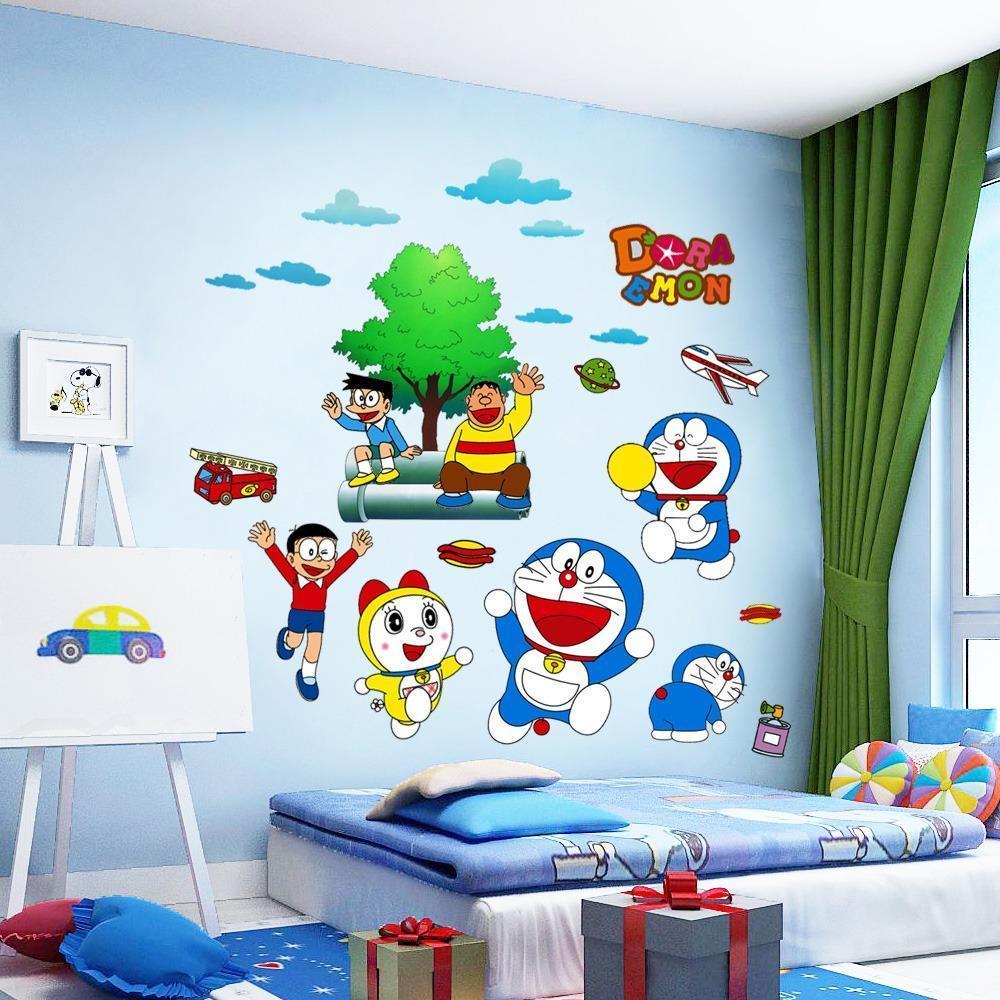 Thiết kế phòng trẻ em phong cáchdoremon