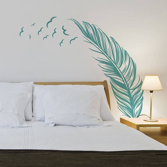 Vẽ tranh tường khách sạn đơn giản