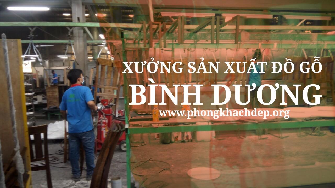 Xưởng sản xuất đồ gỗ bình dương