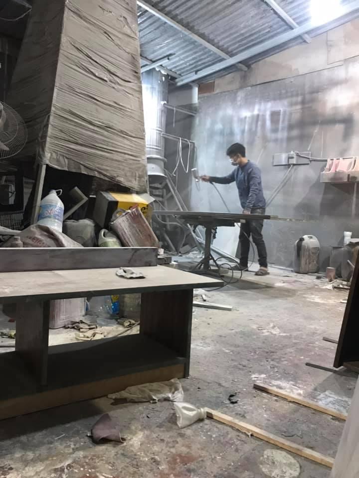 Xưởng sản xuất nội thất gỗ công nghiệp 2