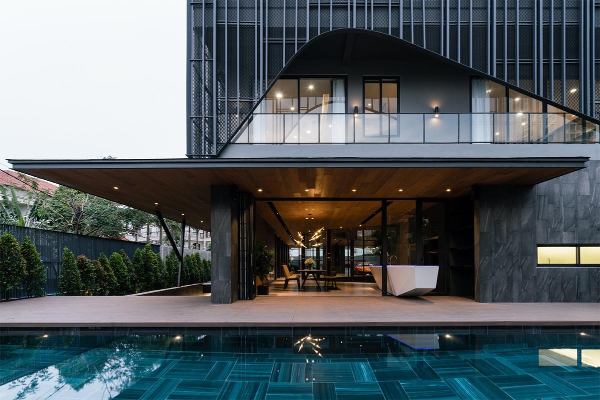 Biệt thự 911 – kiến trúc đương đại cho khí hậu nhiệt đới Sài Gòn