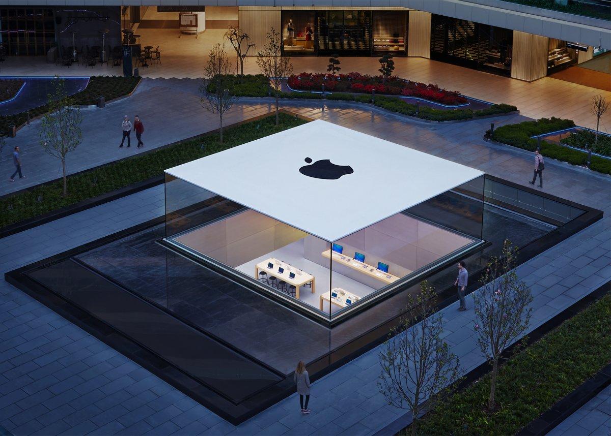 Cửa hàng Apple có kiến trúc hiện đại