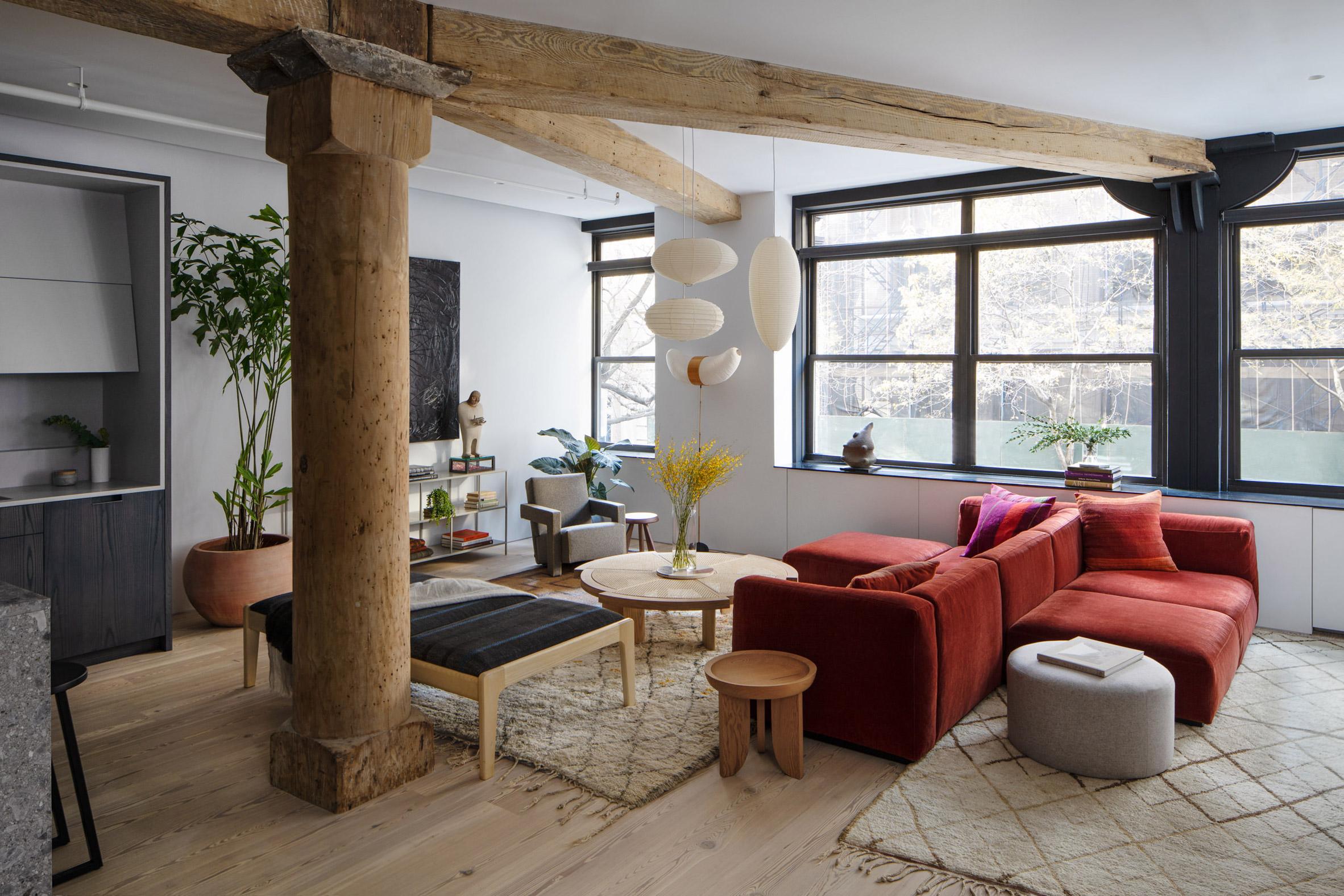 Kết hợp Gỗ và Đá Cẩm Thạch trong thiết kế kiến trúc nội thất 3