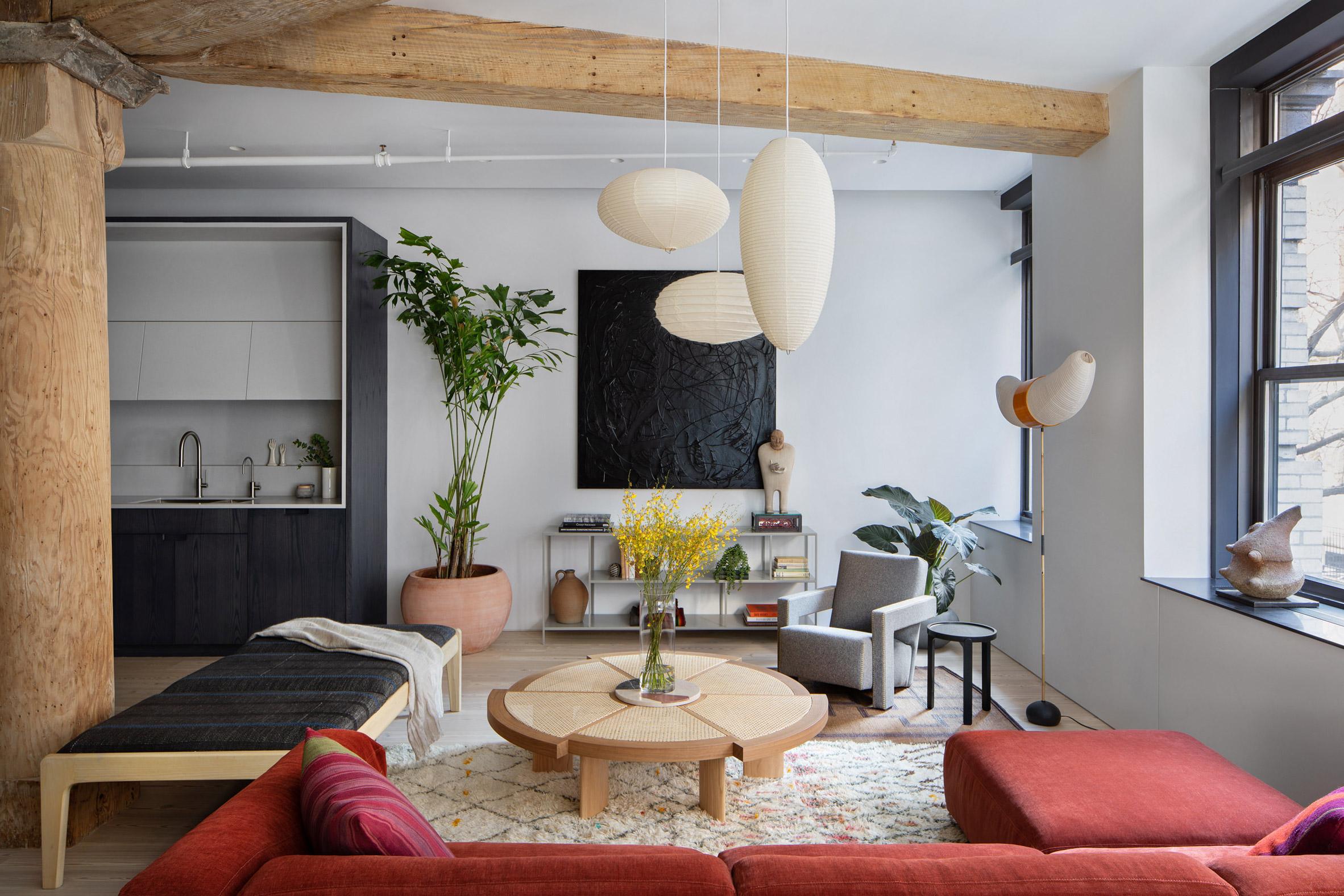 Kết hợp Gỗ và Đá Cẩm Thạch trong thiết kế kiến trúc nội thất 4