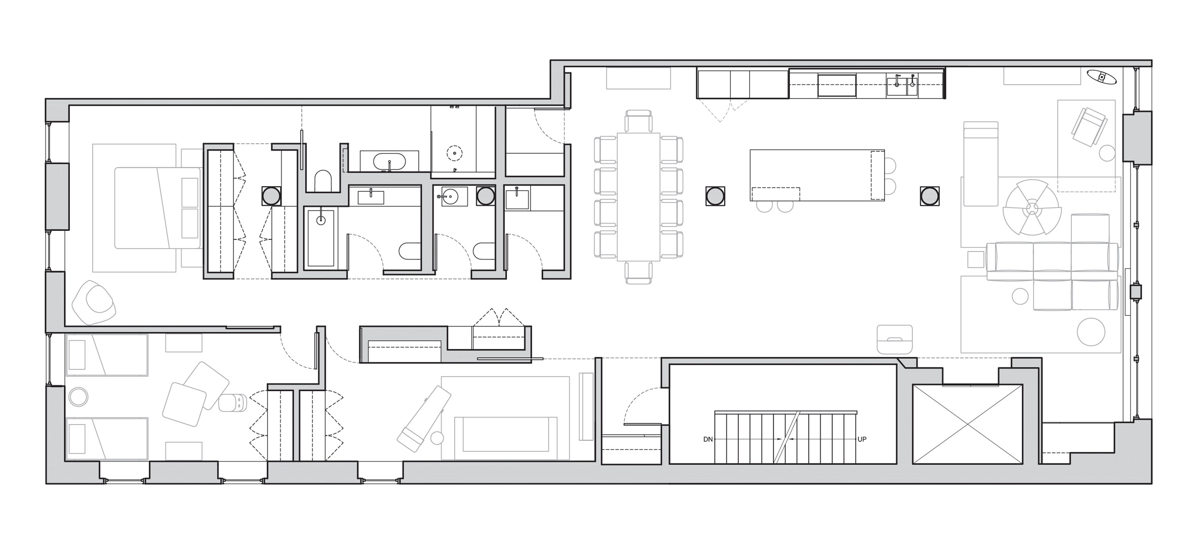 Kết hợp Gỗ và Đá Cẩm Thạch trong thiết kế kiến trúc nội thất 8