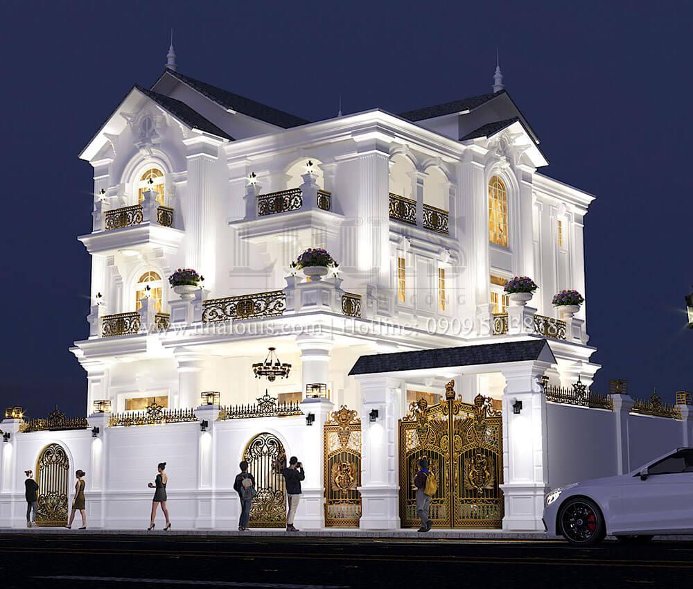 Kiến trúc biệt thự tân cổ điển tại Việt Nam