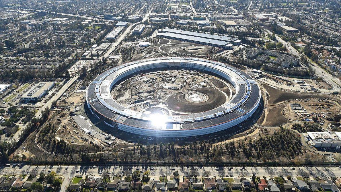 Kiến trúc hiện đại công ty apple