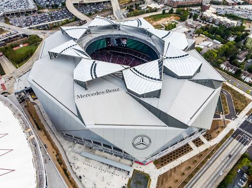 Kiến trúc hiện đại tại sân vận động Mercedes