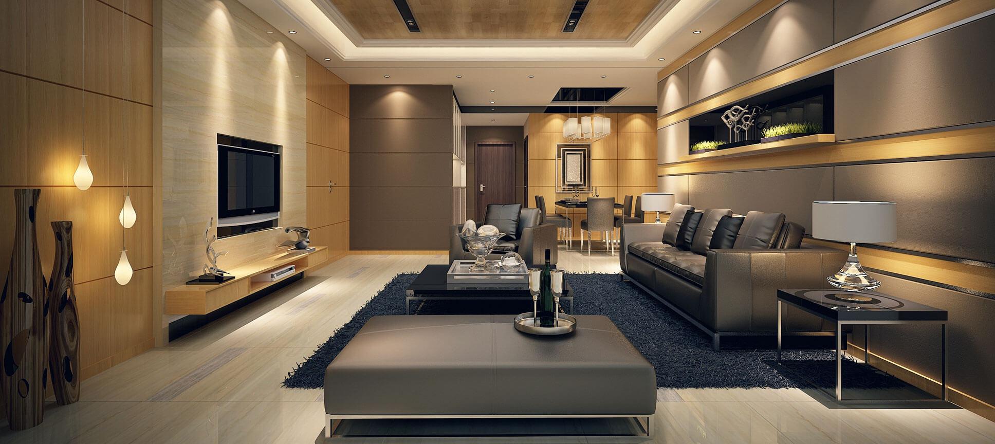 Kiến trúc nội thất tạo ra không gian sống hoàn hảo